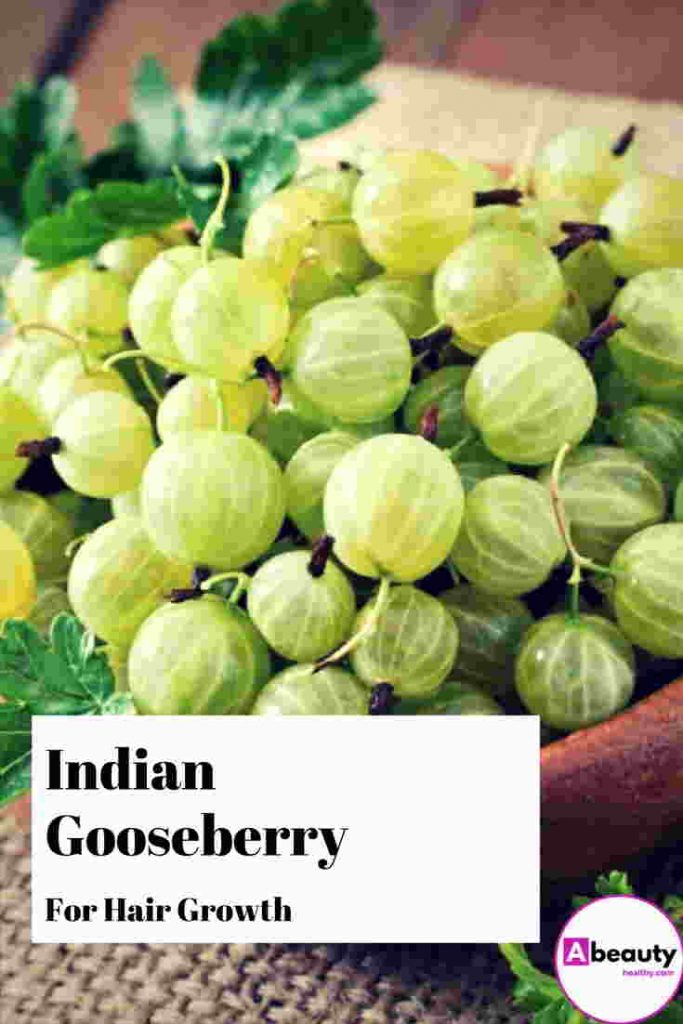 Indian gooseberry for hair growth