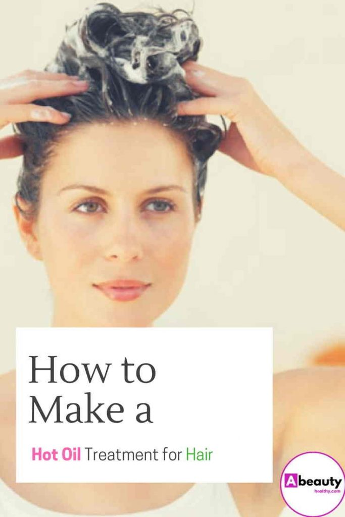 How to Make a Hot Oil Treatment for Hair
