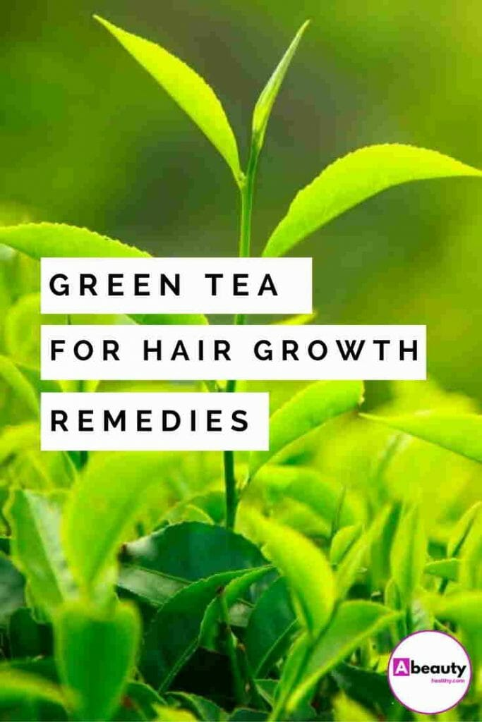 green tea for hair growth