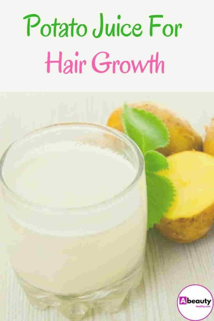 Potato Juice For Hair Growth
