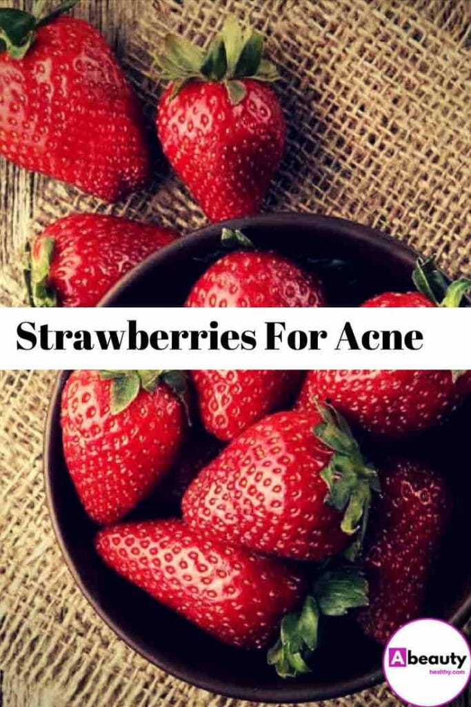 Strawberries For Acne