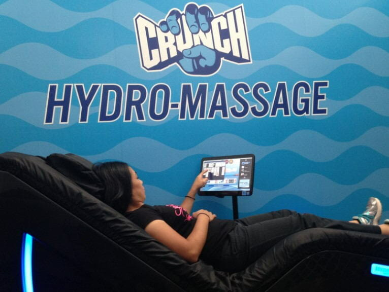crunch fitness hydromassage