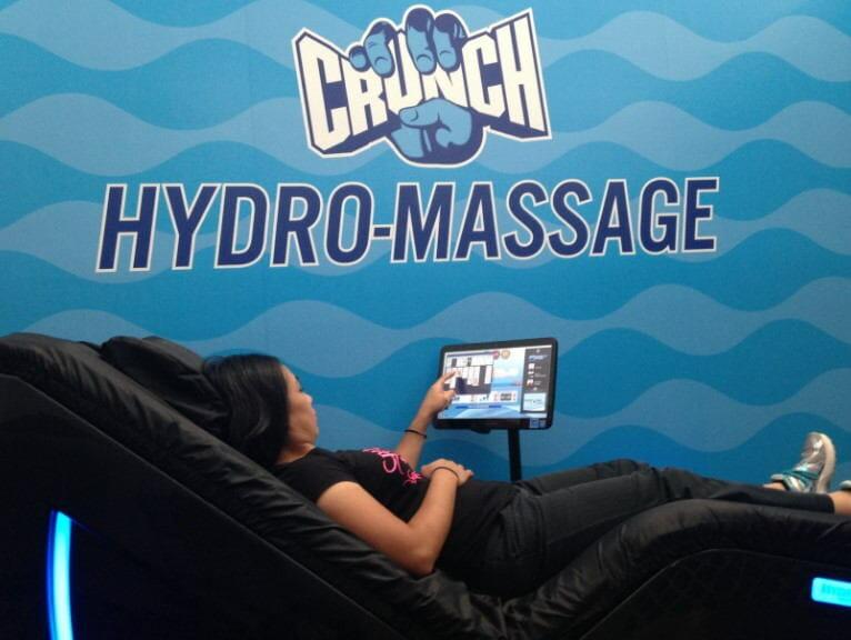 crunch fitness hydromassage