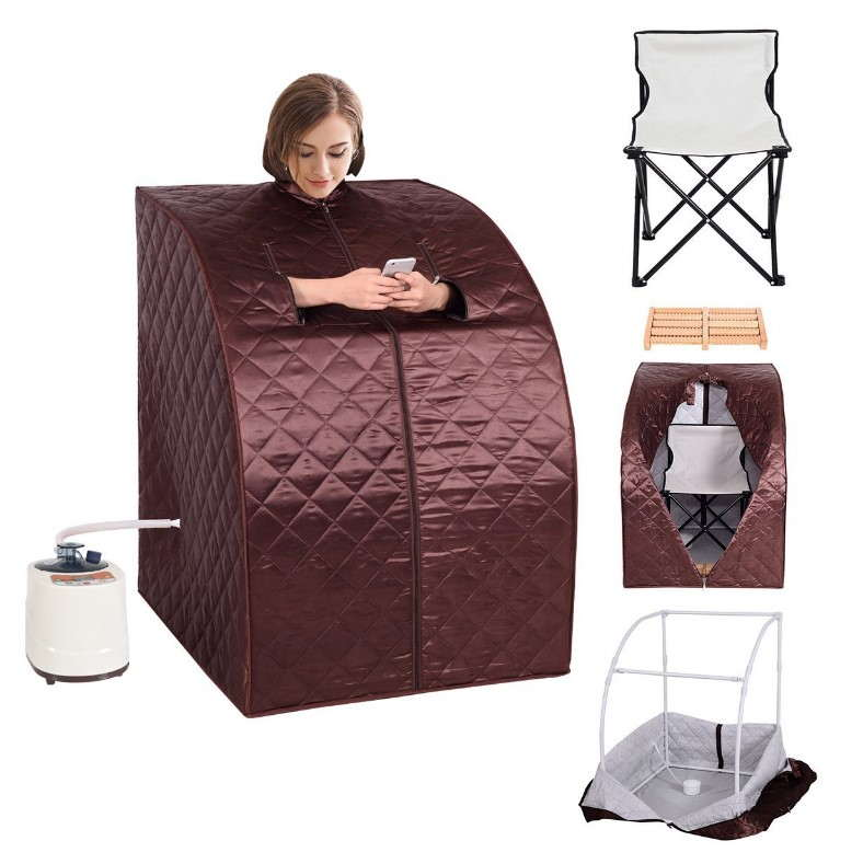 Portable infrared saunas