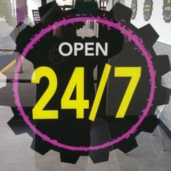 open 24 Hours planet fitness