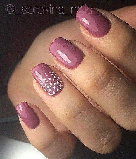 Elegant Pink Nails