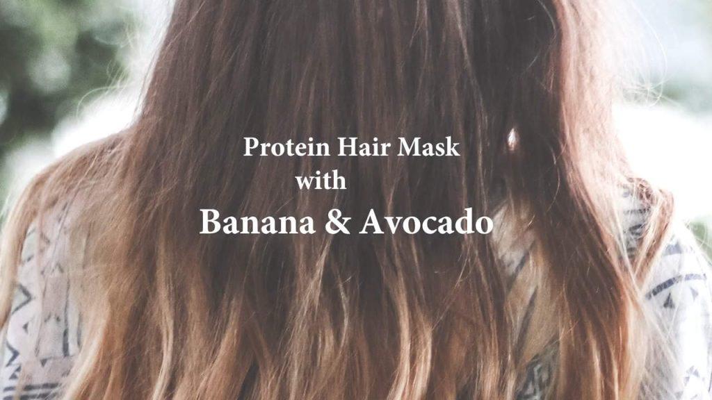Aloe Vera, Avocado, Banana Mask for Dry Hair
