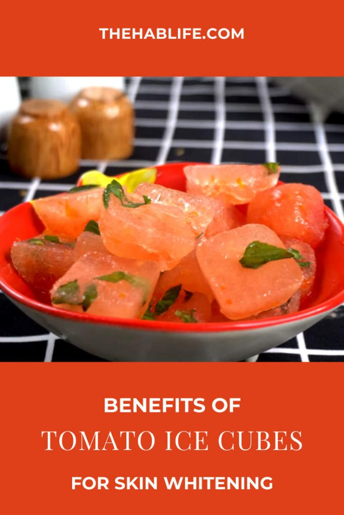 Benefits of Tomato Ice Cubes
