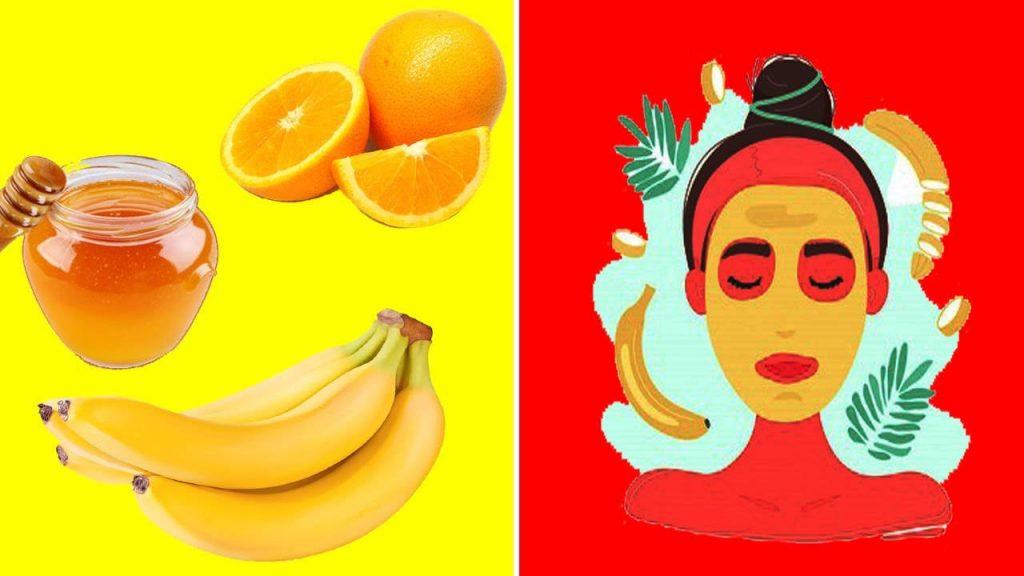 banana mask for face skincare