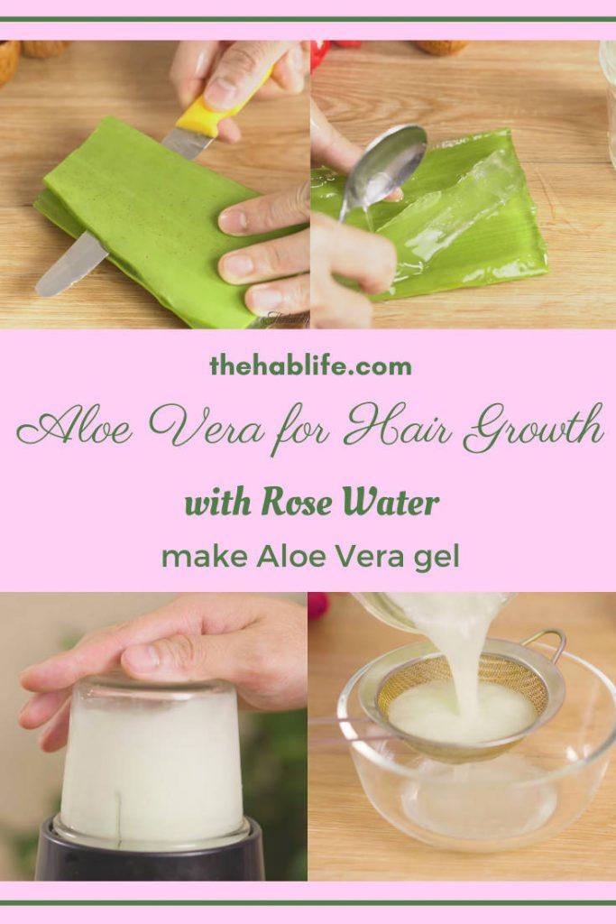 make aloe vera gel