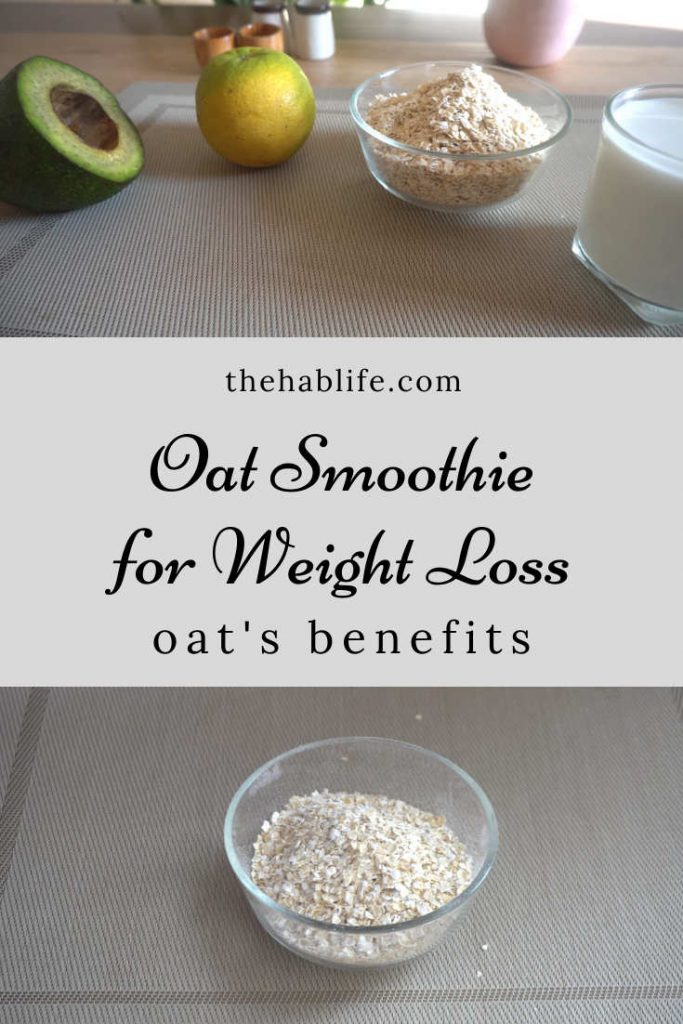 Does oat help you to lose weight?