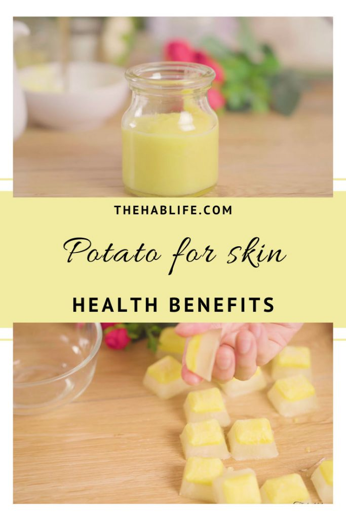 benefits of potato for skin