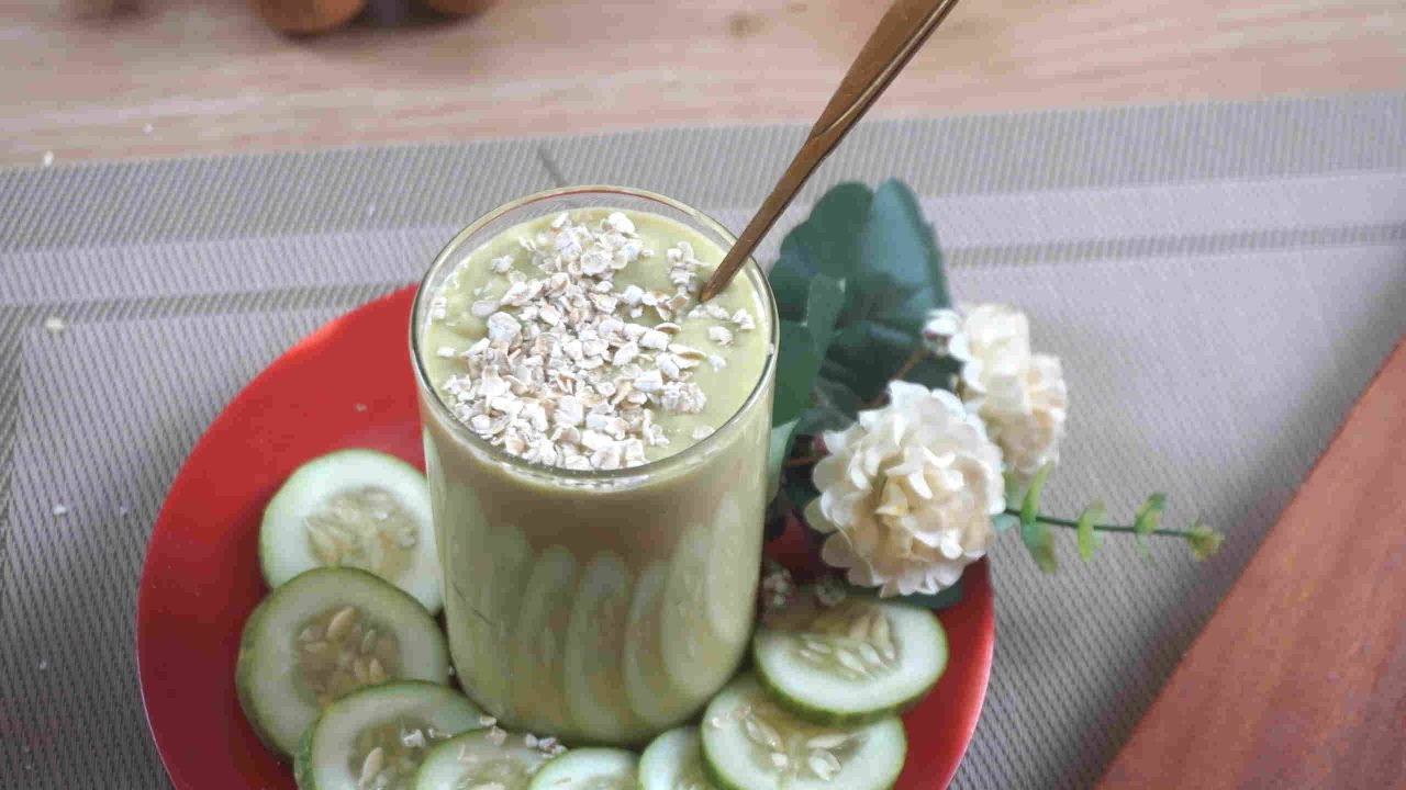 how to make oat smoothie for weight loss at home