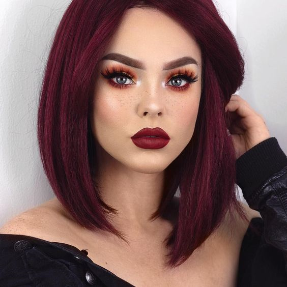 Cherry Red Hair Color Trending