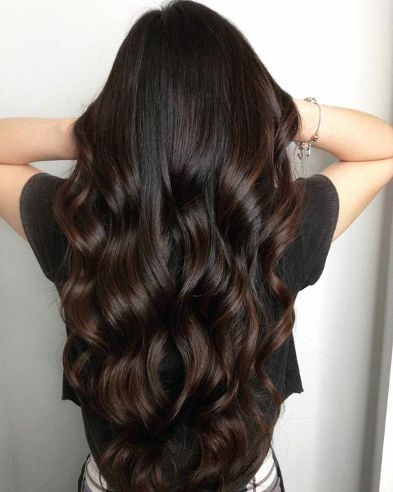 Chocolate Fade Hair Color Trending