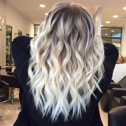 Darker Roots Hair Color Trending