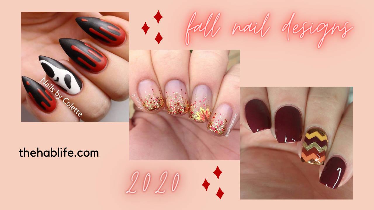 20+ Fall Nail Designs