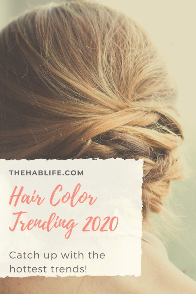 trendy hair colors in 2020
