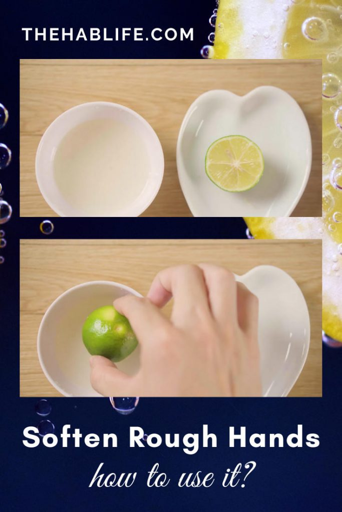 how to soften rough hands