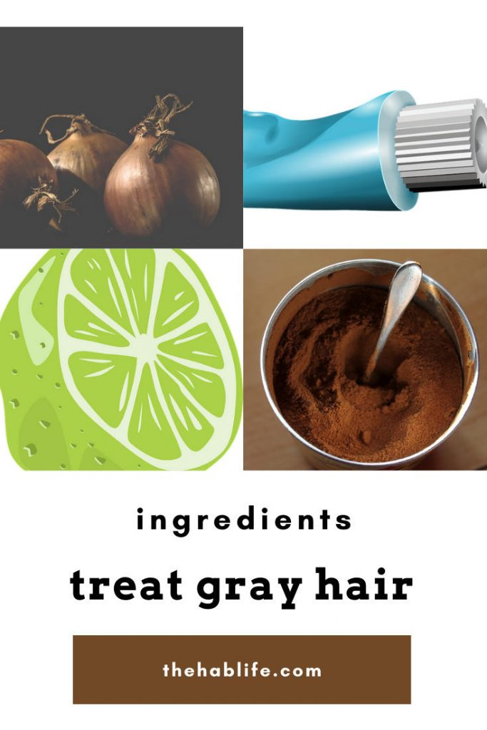 ingredients for gray hair