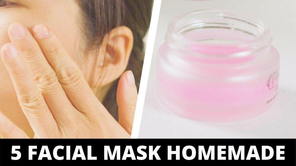 5 masks for clear skin