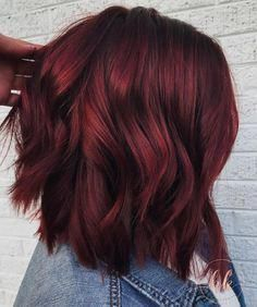 Mulled Wine Hair Color for Winter