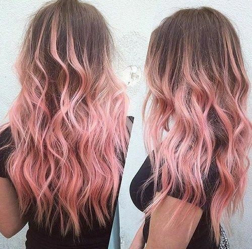 Pastel Pink Hair Color Trending 2020