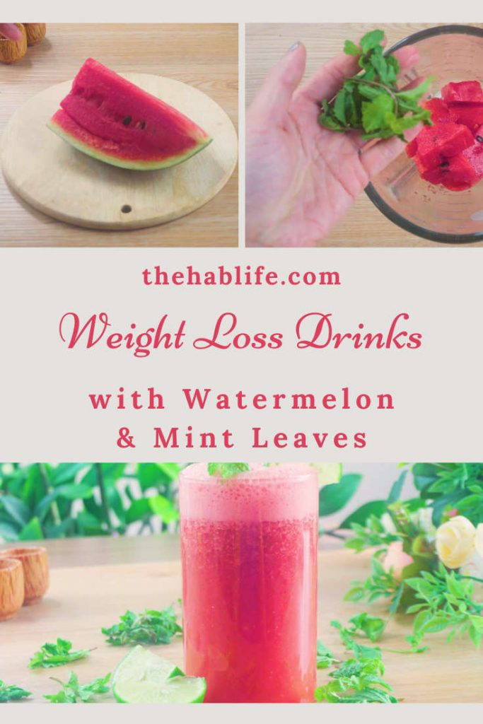 watermelon & mint for weight loss