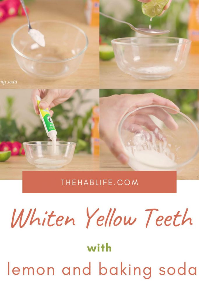 whiten teeth with lemon