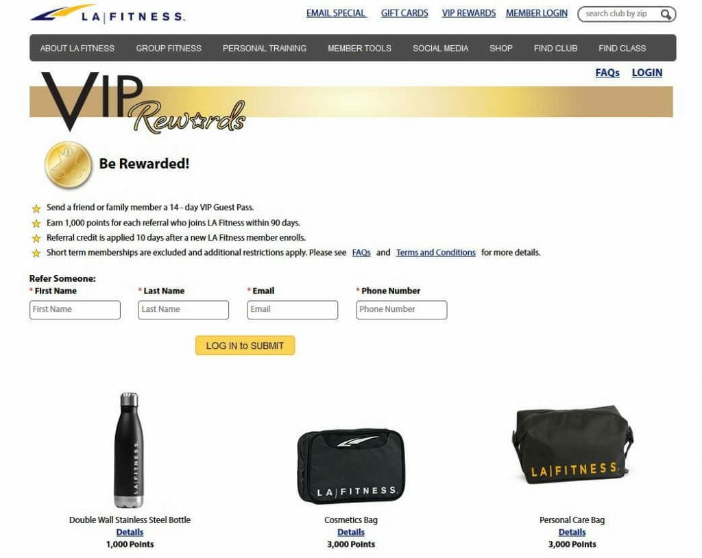 14 - day VIP Guest Pass LA fitness