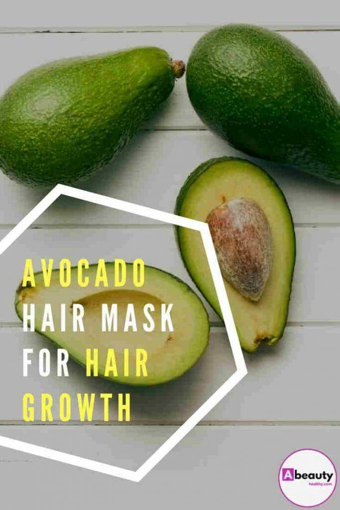 avocado hair mask for hair growth