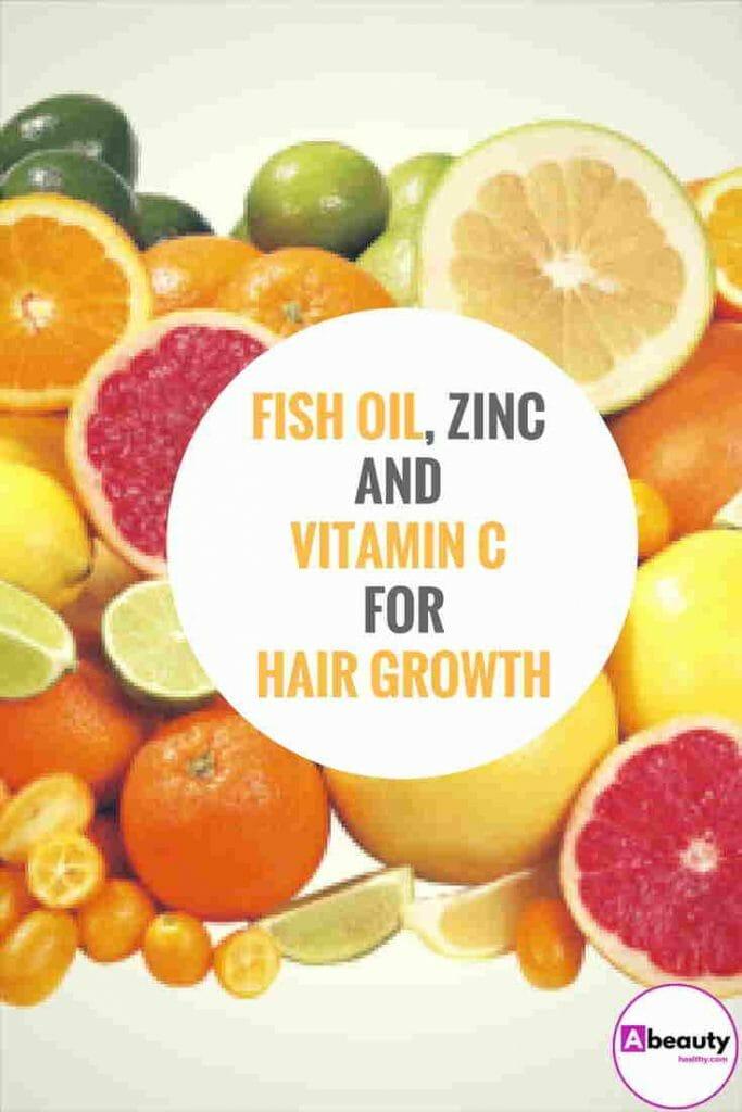 Vitamins C for hair growth