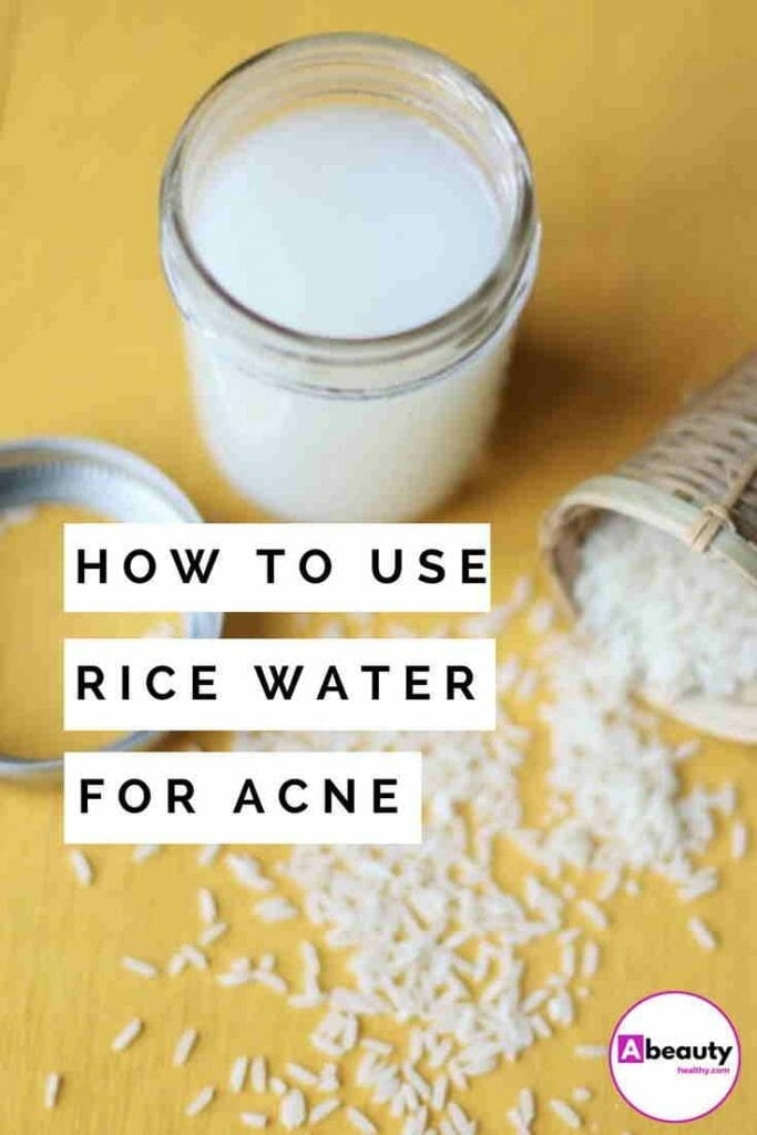 Rice Water For Acne