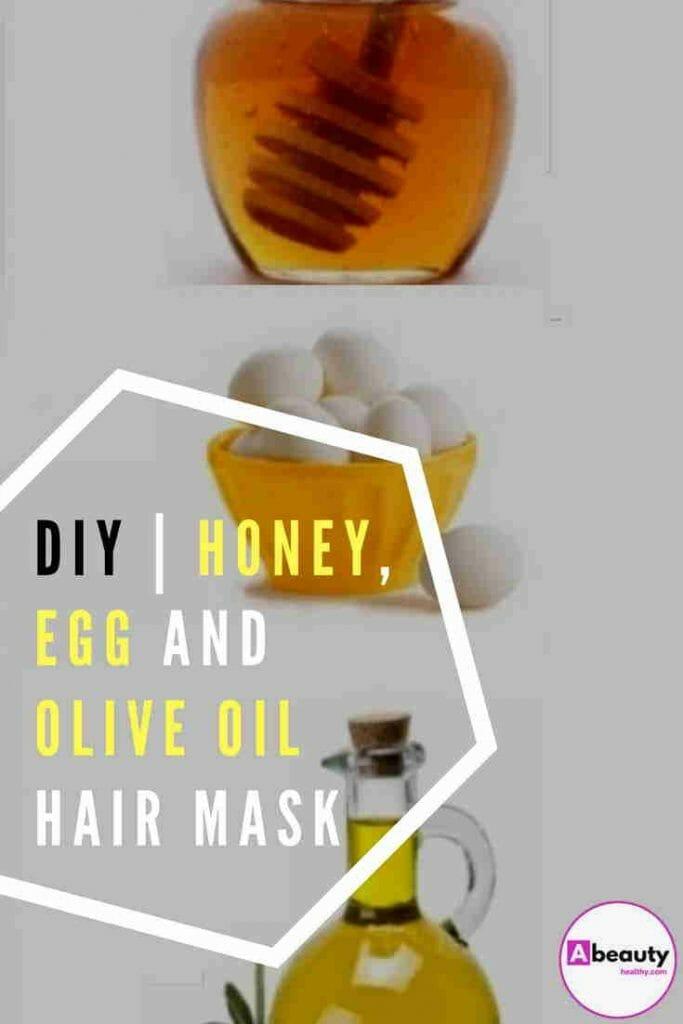 Diy Honey, Egg And Olive Oil Hair Mask