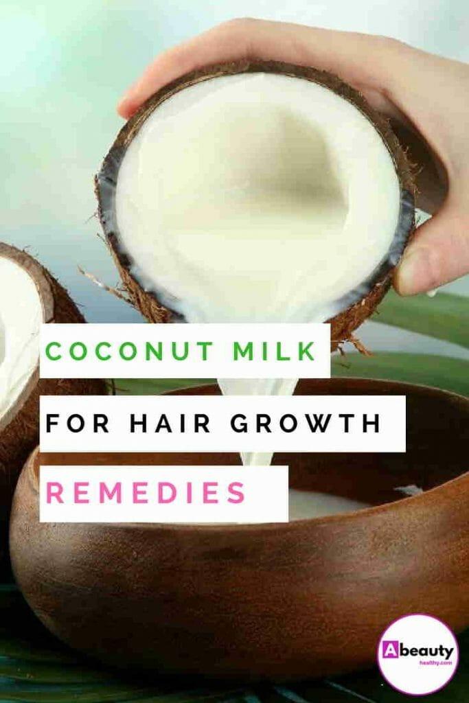 Coconut Milk For Hair Growth