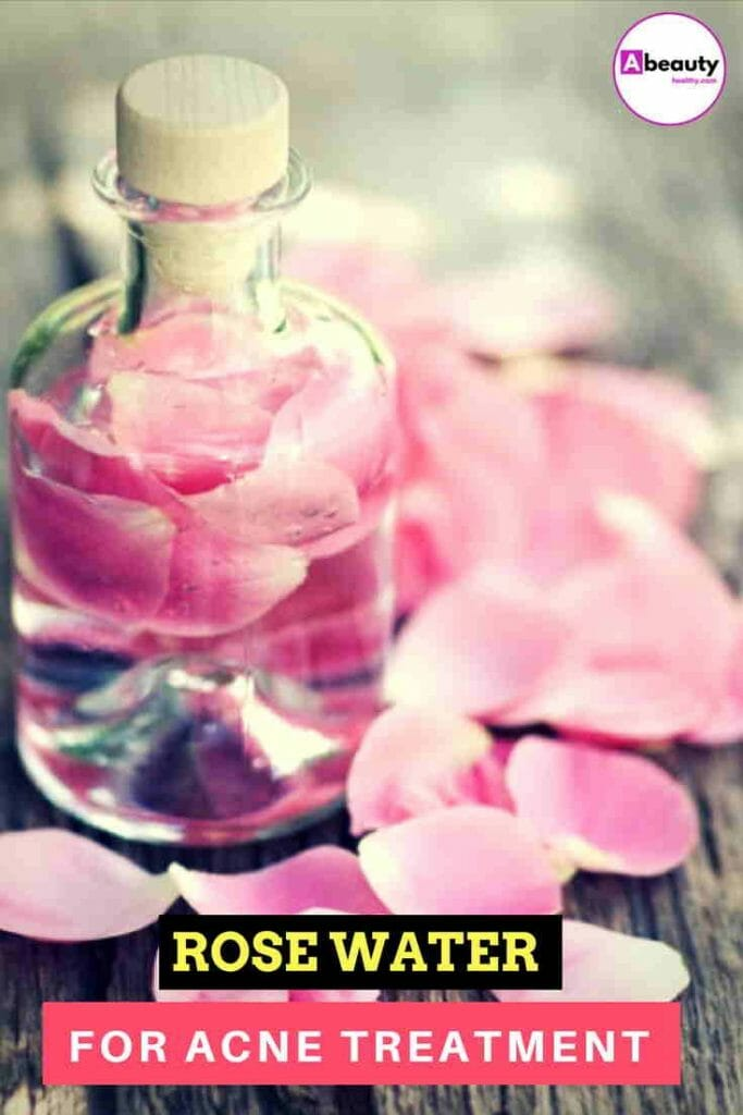Rose Water For Acne
