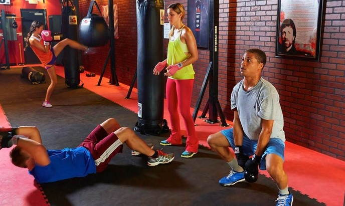 9 Round Fitness training