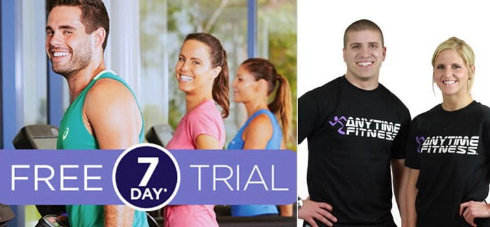 Anytime Fitness 7 days free trial
