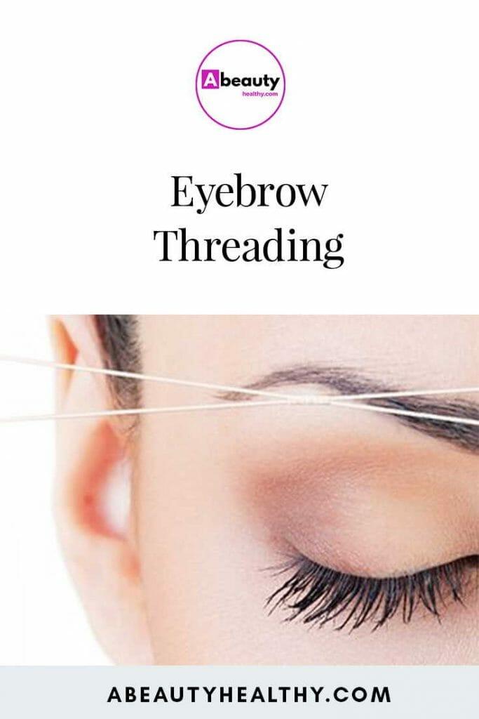 Eyebrow Threading Near me