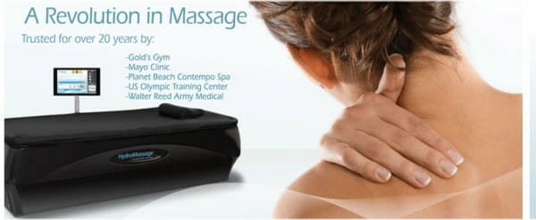 Hydromassage for pain relief
