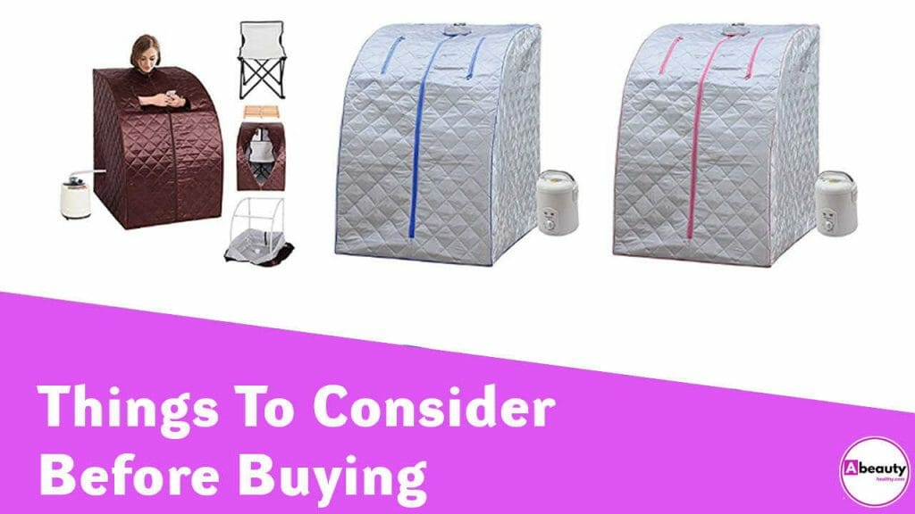 Things to consider before buying