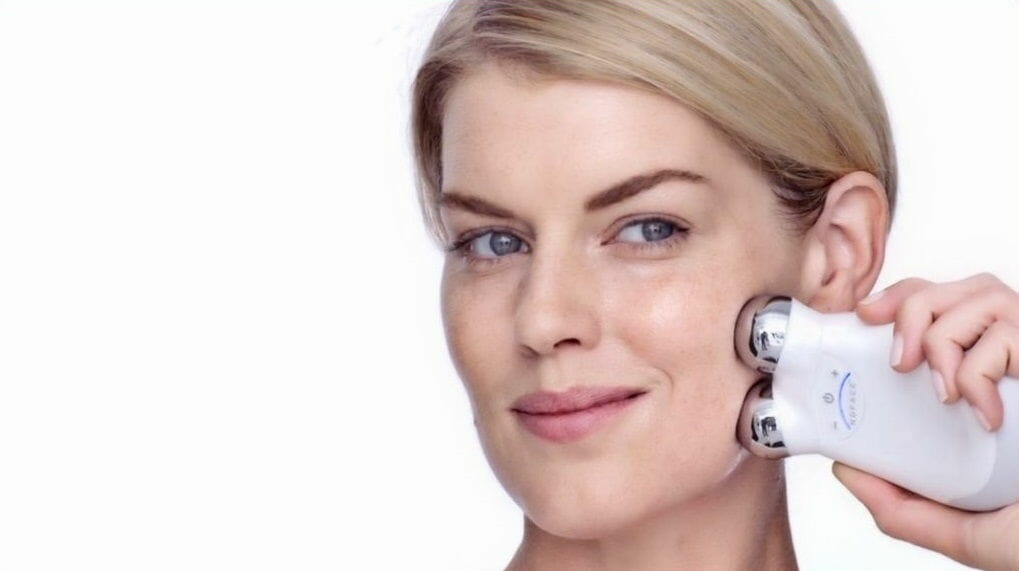 how does microcurrent facial machine work