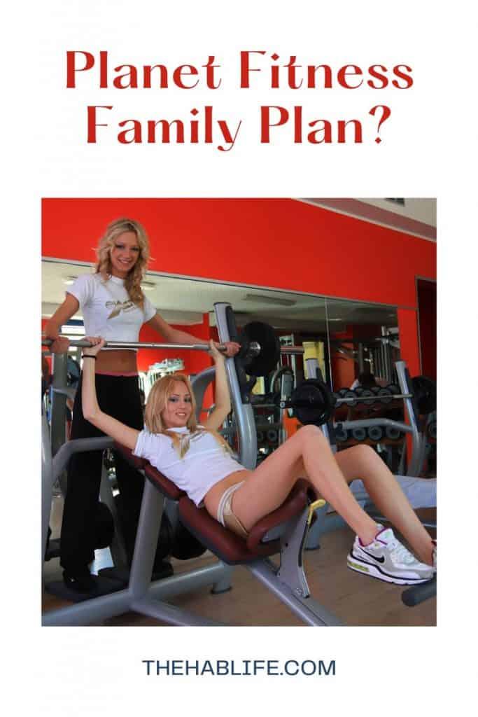 Planet Fitness Family Plan
