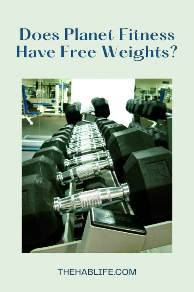 Does Planet Fitness Have Free Weights?