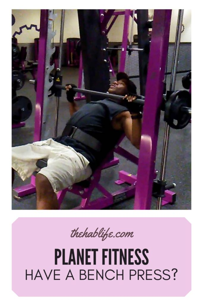 Does Planet Fitness Have a Bench Press?