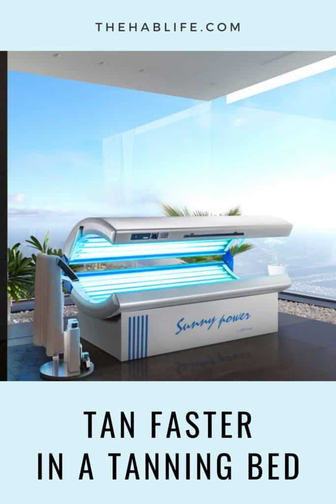 How to Tan Faster In A Tanning Bed?
