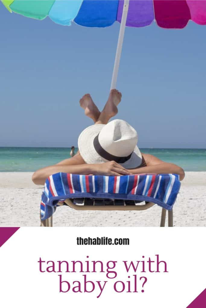 7 Things to Know When Tanning with Baby Oil